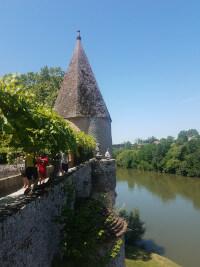 Albi: along the Tarn river.