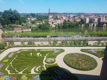 Albi gardens.