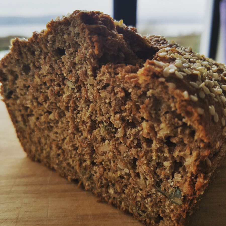 Wheaten bread like granny would have made.