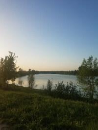 Lake outside Lisle sur Tarn.