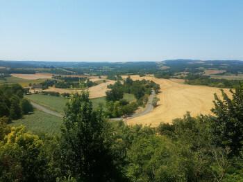 Beautiful Tarn countryside.