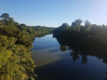 The River Tarn.